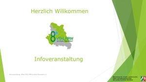 thumbnail of Präsentation VITAL.NRW