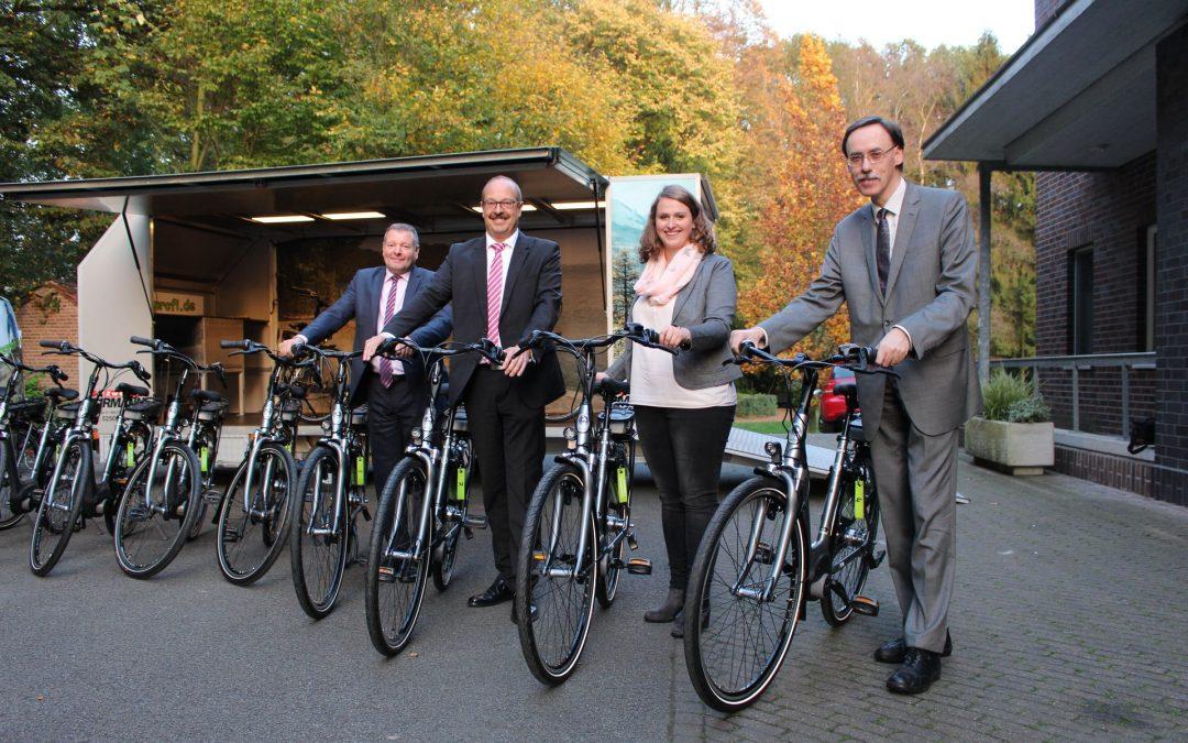 Willkommen VITAL.NRW im Kreis Warendorf – E-Bikes für die beteiligten Kommunen