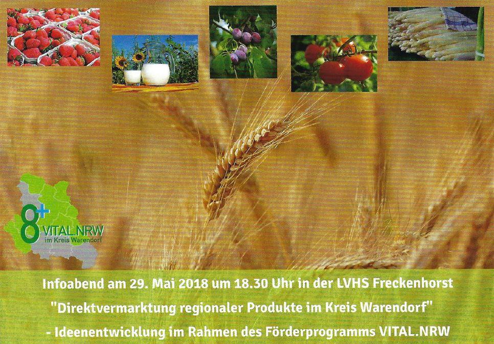 Infoabend zur regionalen Direktvermarktung im Kreis Warendorf