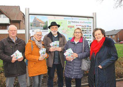Informationsbroschüren für den Kulturpfad in Beelen