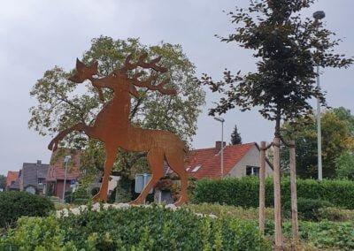 Wappen für den Kreisverkehr in Drensteinfurt