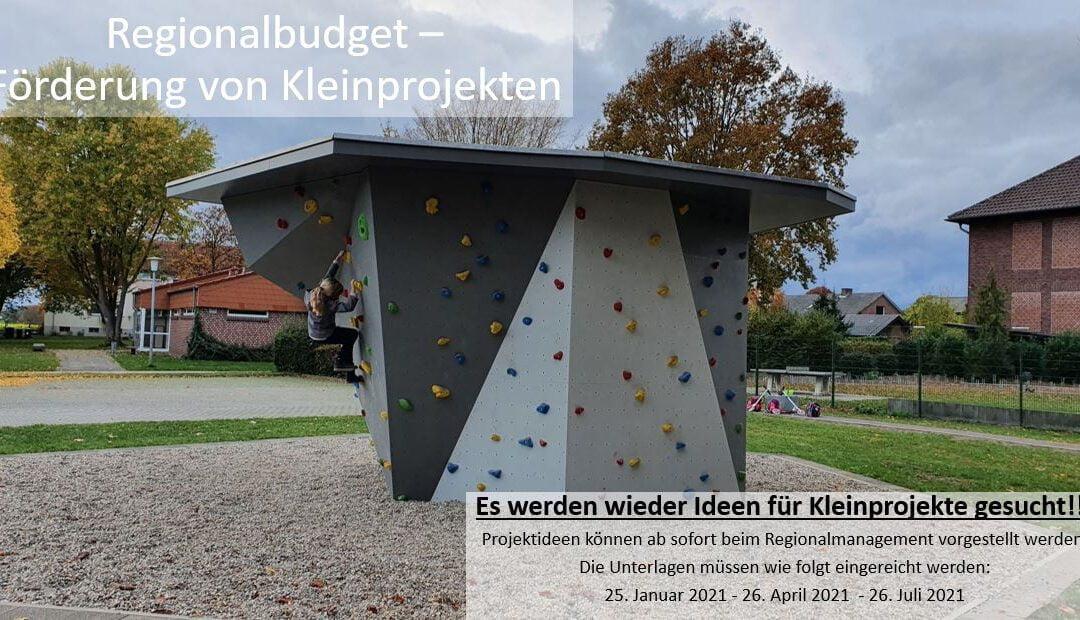Aufruf Regionalbudget 2021